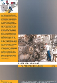 Papiertechnologe-Flyer
